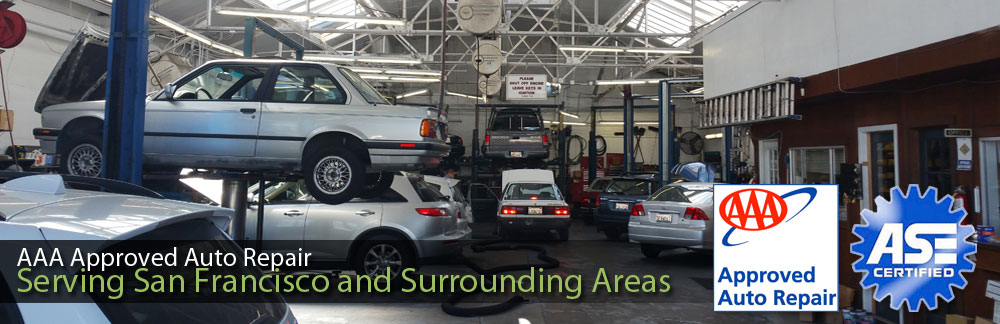 Auto Repair Scheduled Maintenance Lube Oil Filter In San Francisco Ca Hans Art Automotive